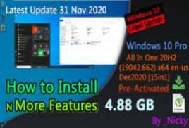 Windows 10 X64 10in1 20H2 OEM en-US NOV 2020 {Gen2}